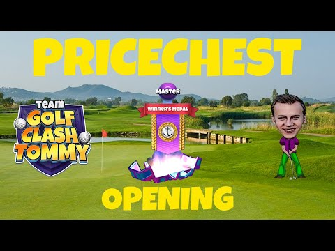 Golf Clash Expert lvl - First prise chest in the Asia Pacific tournament!