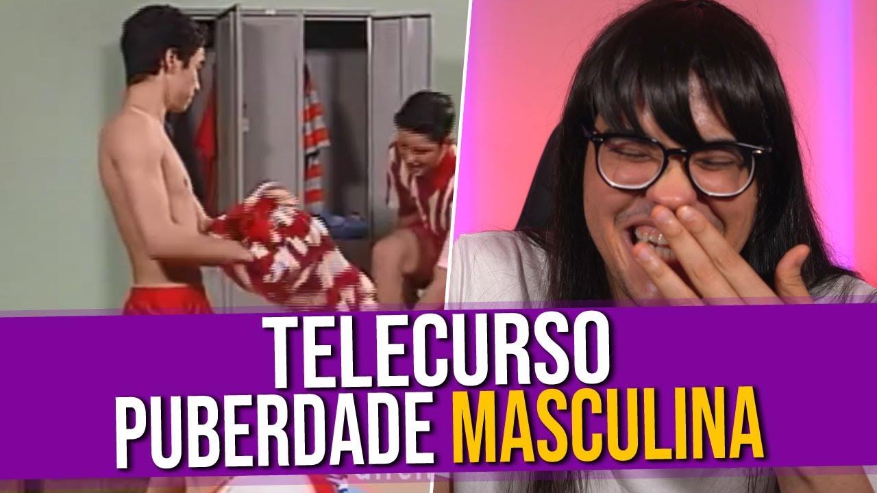 Análise do Vídeo: Telecurso Puberdade Masculina