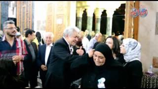 حمدين صباحي يقدم واجب العزاء في شاهندة مقلد