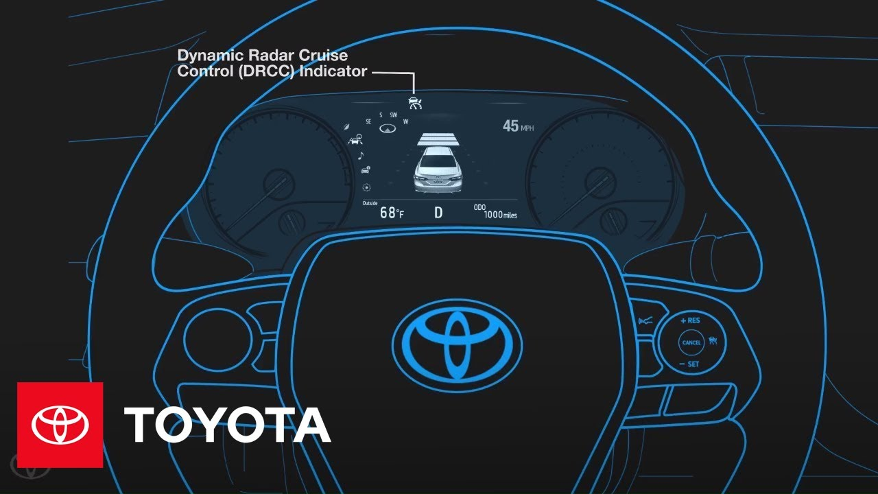 Toyota Highlander Owners Manual: Selecting conventional constant speed control mode