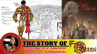 Comic Book Artist | Creating the Comic Book Fantasy Series Forbidden - I Create Stories