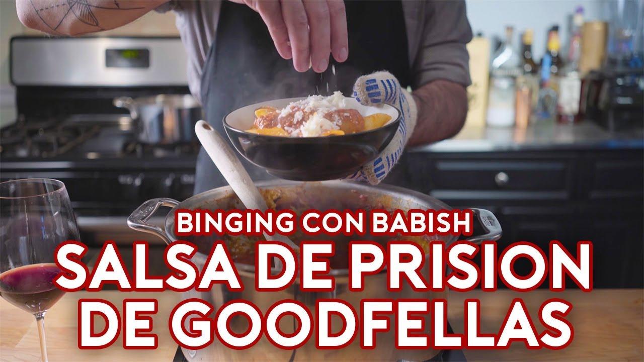 Binging con Babish: Salsa de Prisión de Goodfellas