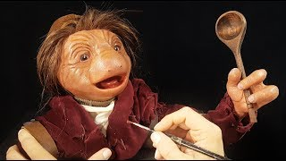Sculpting Hup - The Dark Crystal, Age of Resistance, in Timelapse