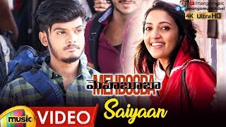 Saiyaan Full Video Song 4K | Mehbooba Telugu Movie Songs | Puri Jagannadh | Akash Puri | Mango Music