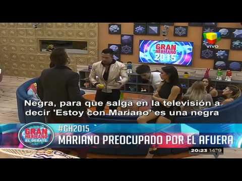 Mariano, preocupado por lo que pasa afuera