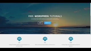 How to make a Website using WordPress (Optimizer Theme) | Step by Step| 2018