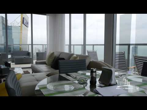 Luxury PENTHOUSE for sale in Yoo&Arts Panama with stunning ocean view