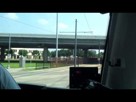 Samsung Galaxy S II: Downtown Houston metro rail ride!
