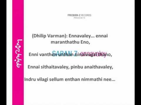 Ennavaley Ennai With Lyrics - Ennavaley (Saran Z)