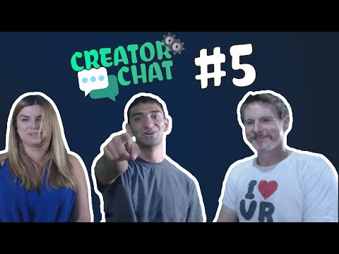 DESIGNING VR EXPERIENCES FOR THE CONSUMER! Creator Chat #5 Interview with Adam and Iva from TheVRLAB