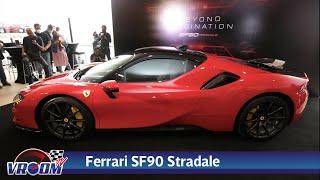 Ferrari SF90 Stradale dengan enjin V8 terpantas