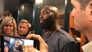 Eagles' Malcolm Jenkins on Panthers' Eric Reid