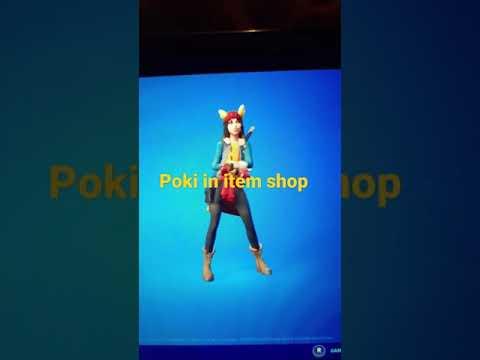 poki in item shop # FORTNITE #pokimane #cheese #fun