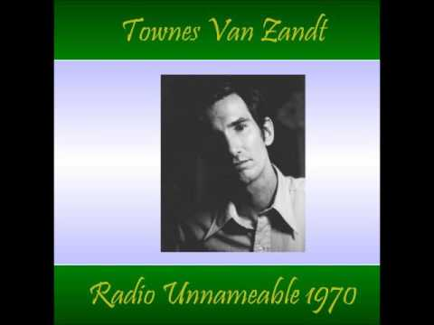 Townes Van Zandt WBAI FM Radio Unnameable 20 October 1970