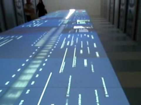 Interactive Timeline - BMW Museum in Munich, Germany