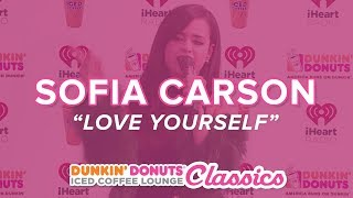 Sofia Carson Performs Love Yourself Live  Classics