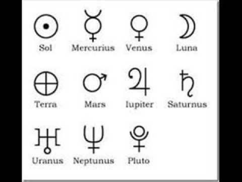 Los planetas sus simbolos y su significado parte 1 youtube - Simbolos y su significado ...