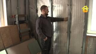 видео Утепление каркасного дома своими руками: пошаговая инструкция
