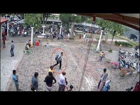 Watch : CCTV images show Sri Lanka'...