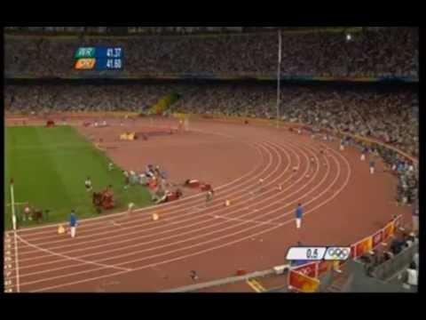 Пекин 2008  Золотая Эстафета России  4 *100