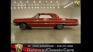 1964 Chevrolet Impala- Gateway Classic Cars in St. Louis, MO