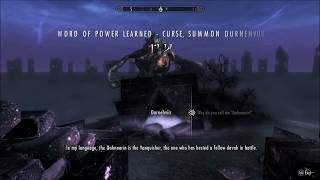 Skyrim - A Conversation with Durnehviir