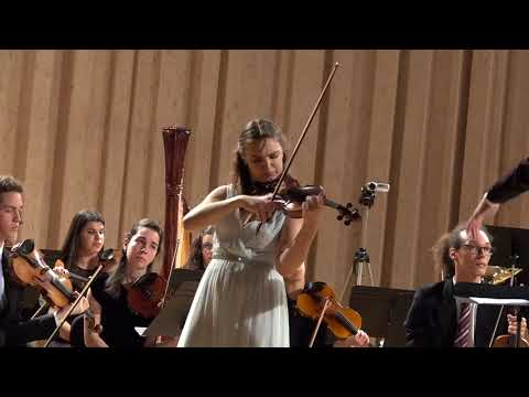 Dvorák Romance Op. 11 for violin and orchestra - Veronika Taraban violin ESML Repertoire Orchestra