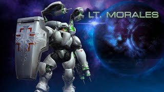 Heroes of the Storm – Lt. Morales Trailer