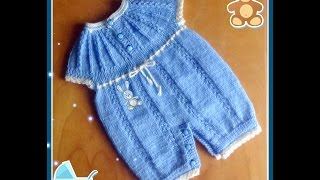 Боди-трансформер для малыша спицами.  Часть 1. Knit Body-transformer for the baby. part 1