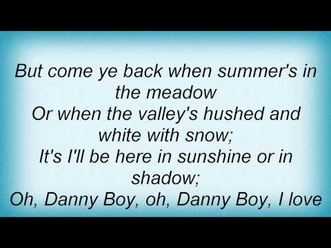 Bing Crosby - Danny Boy Lyrics_1