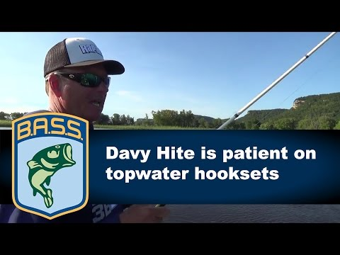 Why you should be patient on topwater hooksets