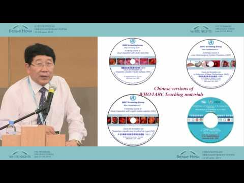 Cancer screening research in China