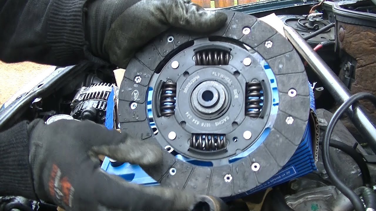 Clutch Replacement Part 2 Clutch Refitting Youtube