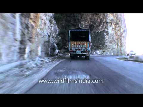 Himalayan Driving from Theog near Shimla to Narkanda in Himachal  Part 4