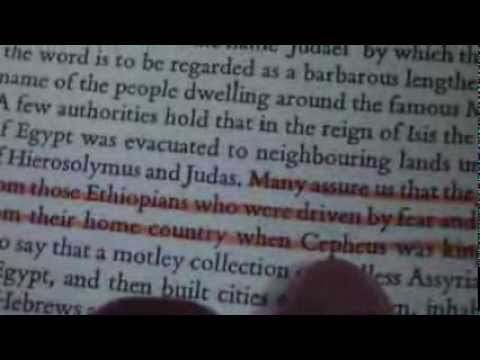 Noted Historian Tacitus Describes the Israelites - 70 A.D.