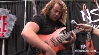 Namm '13 - Ns Design Cr5 Radius Bass Demo