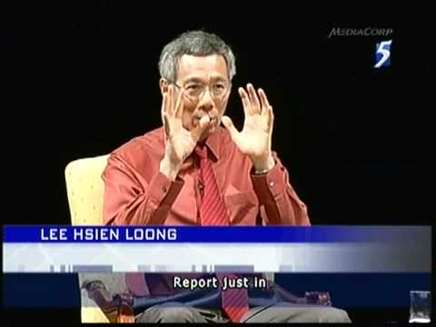 PM Lee defended for Tin Pei Ling - 05Apr2011