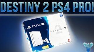 DESTINY 2 PS4 PRO BUNDLE ANNOUNCED!