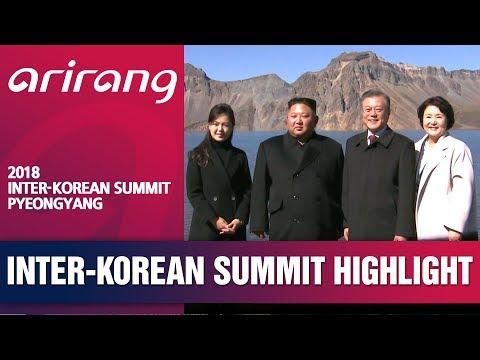 [2018 INTER-KOREAN SUMMIT PYEONGYANG] FOOTAGE OF MT.BAEKDUSAN VISIT BY TWO LEADERS