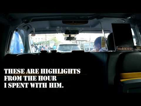 An Hour With London Black Cab Driver