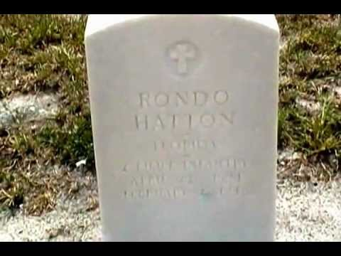 Rondo Hatton @ American Legion Cemetery