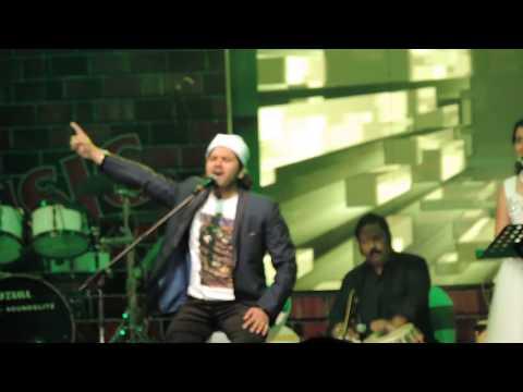 Khwaja Mere Khwaja from Jodha Akbar- Javed Ali Live at Phoenix Mall Bangalore 27th December, 2014