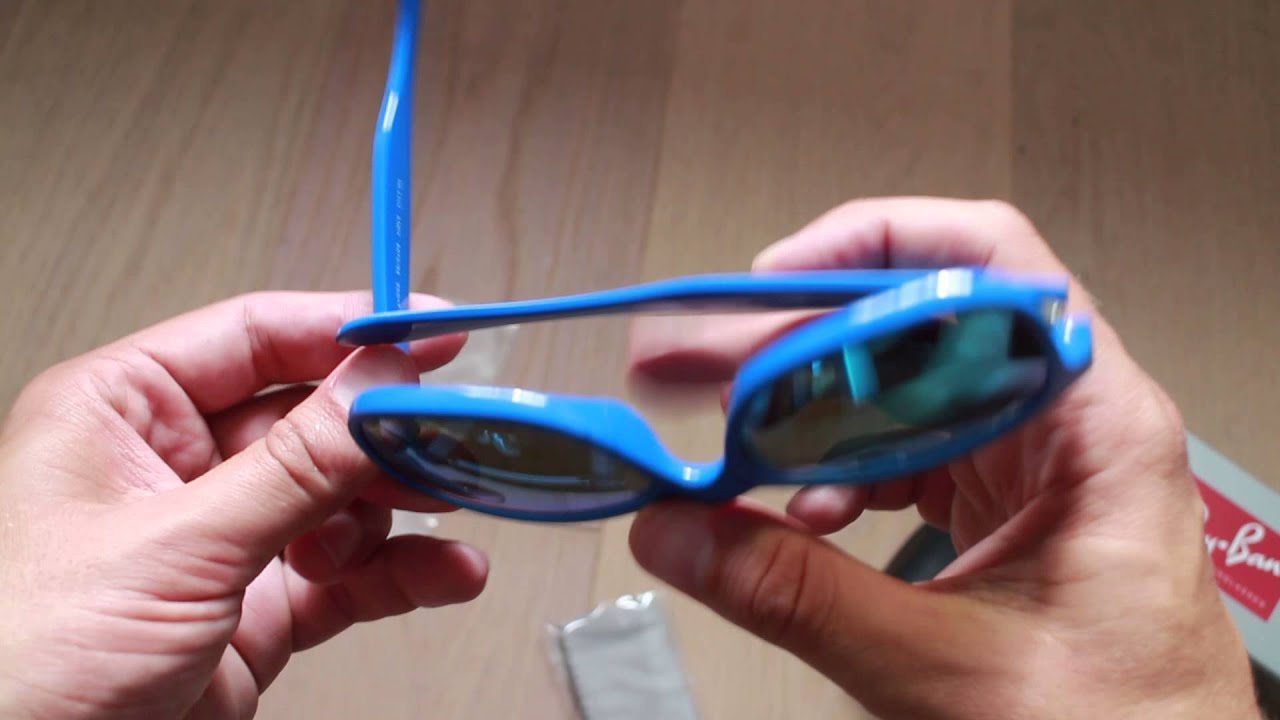 57e83dc097 Ray Ban Andy sunglasses unboxing - YouTube