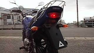 YAMAHA YBR125 BLUE (CJLA) スパトラサスファン 検索動画 12