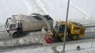 Erzurum' Da Kar Temizleme çalışması Nasıl Yapılıyor ?