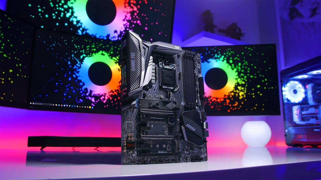 MSI Z370 Gaming Pro Carbon Motherboard and Intel's Core™ i5-8600K Review