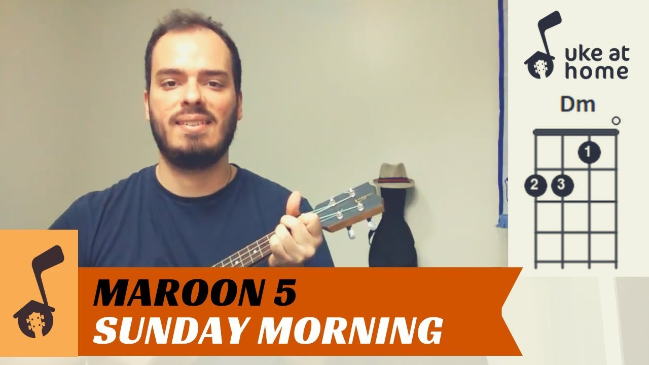 Maroon 15   Sunday Morning   Ukulele tutorial