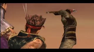 Dynasty Warriors 4 Hyper Mod: Gan Ning surrenders to Private cutscene