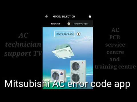 Mitsubishi electric outdoor error codes