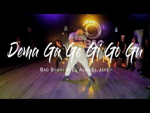 Bad Bunny X El Alfa El Jefe - Dema Ga Ge Gi Go Gu/ CHOREOGRAPHY BY Jeremy Iturri
